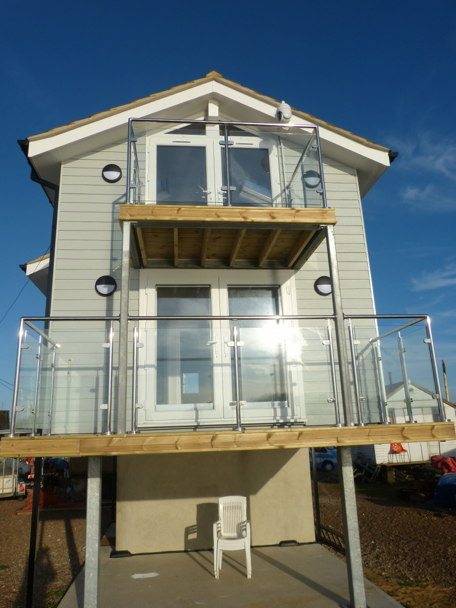 Front Elevation Without Balcony : Case studies eco building panels