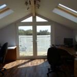Open plan made easy using SIP's Roof & Glulam Beam